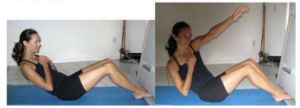 Paddle Chica Core Workout 4