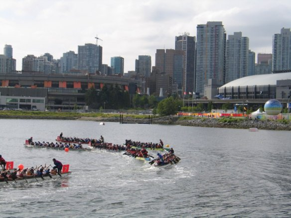 """The """"Guts and Glory"""" 2k race in Vancouver. Photo: Marc Applewhite"""