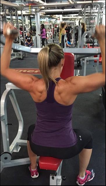 Paddlechica Gym Training Alice Tran